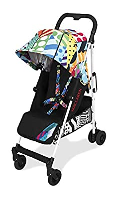 Maclaren Quest arc Jason Woodside Silla de paseo - ligero, manillar unido, para recién nacidos hasta los 25kg, Asiento multiposición, suspensión en las 4 ruedas