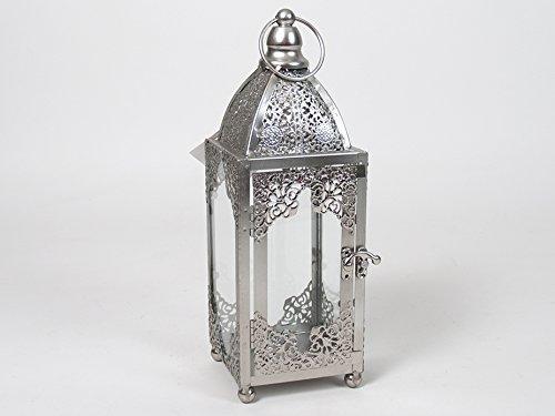 Gerimport Farol Decorativo de Metal Quinqué Epoque (Medidas:31x11x33cm)