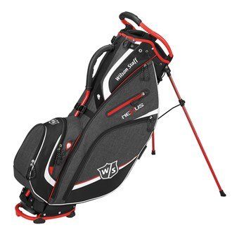 Wilson W/S Nexus Carry III Blrd Bolsas de Palos de Golf, Hombre, Negro /...