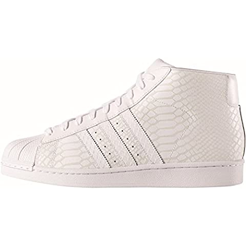 Adidas, Donna, Promodel Bianco, Pelle, Sneakers,