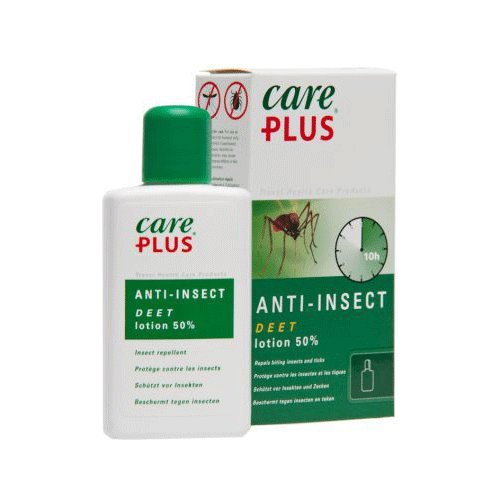 Care Plus Anti-Insect DEET 50{21245836e172b342345667362030023fce681a80e6564d3bc1c56fb3551c3837} Lotion 50ml