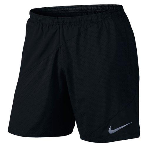 Nike Herren M NK Flex Distance 7 Zoll Lauf Shorts, Schwarz, M (Short Nike Running Schwarz)