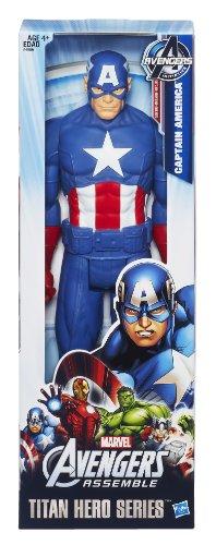 Marvel Avengers - Figura del Capitán América de titán (Hasbro A4809E27)