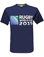 T-shirt Coupe du Monde de Rugby IRB 2015 - Collection officielle - Taille adulte homme