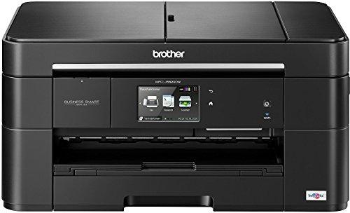 Brother MFC-J5620DW Farbtintenstrahl-Multifunktionsgerät (Scanner, Kopierer, Drucker, Fax) schwarz - 12 Cyan Inkjet