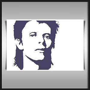 """DAVID BOWIE PURPLE 42x30"""" (106x76 cms) SANS CADRE D'IMPRESSION ART DE TOILE"""