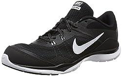 Nike Flex Trainer 5, Women Fitness Shoes, Black (Blackwhiteanthracite 001), 5 Uk (38 12 Eu)