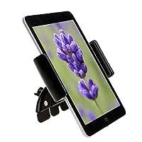 Caratteristiche: 100% nuovo e di alta qualità. Rotazione a 360gradi, il supporto può essere regolato a qualsiasi angolo per soddisfare i driver need. Realizzato in plastica rigida di alta qualità. Applicabile per iPad mini, Samsung Tablet PC GPS co...