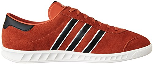 adidas Hamburg, Chaussures de Tennis Homme Multicolore - Multicolore (Crachi/Cblack/Goldmt)