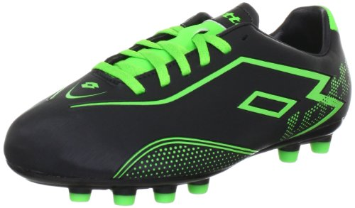 lotto-sport-lotto-zhgravii-700fg-jr-sports-shoes-football-boys-black-schwarz-black-mngreen-size-3-36