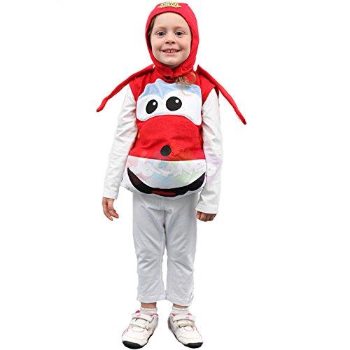 Giochi preziosi super wings costume bambino jett taglia 3-4 anni