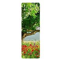 Bilderwelten Wall Coat Rack Wardrobe wall mounted double hook - Summer Meadow