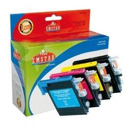Preisvergleich Produktbild Emstar B53 Remanufactured Tintenpatronen Pack of 4