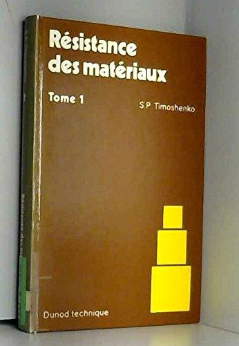 RESISTANCE MATERIAUX T1.
