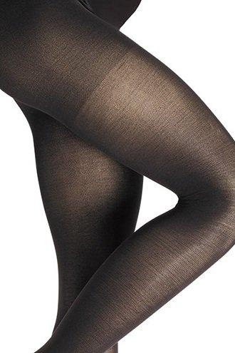 ESPRIT Maternity Strumpfhose Damenstrumpfhose werdende Muttis Tights OTB, 40 DEN schwarz Schwarz (Black)