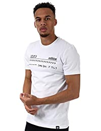 86bbfedbc00f adidas Originals Mens Sophisti T-Shirt in White- Short Sleeve- Ribbed  Collar-