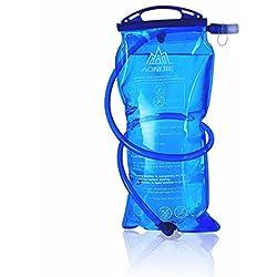 Bolsa de hidratación para mochila de senderismo, sistema de hidratación con reserva de agua para 1l, 1,5l, 2l y 3l, de la marca AONIJIE, tamaño 2 L