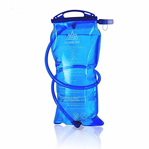 aonijie Rucksack Rucksack mit 2l Trinkblase Wasser Tasche Pack Radfahren/Wandern/Klettern RoseRed
