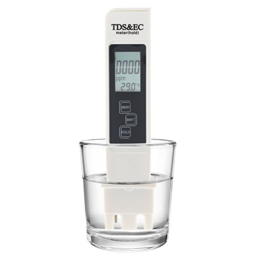 hothuimin Wasserqualität Tester Professional TDS, EC M & Temperatur M Professional-in TDS, Temperatur und EC Messgerät mit Tragetasche # 22-JCB