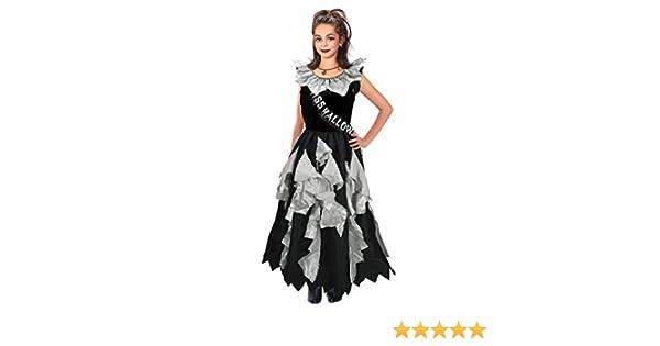 La Reginetta del Ballo zombie costume halloween costume bambino di due taglie