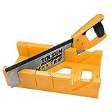 Cablematic - Serrucho de 300mm con caja de inglete de herramientas Tolsen