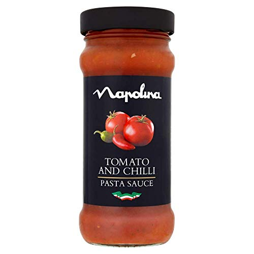 Napolina Tomato and Chilli Sauce, 350 g, Pack of 6