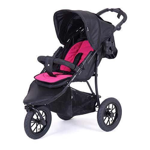 knorr-baby 883063 - Passeggino sportivo Funsport3, colore: Nero/Rosso