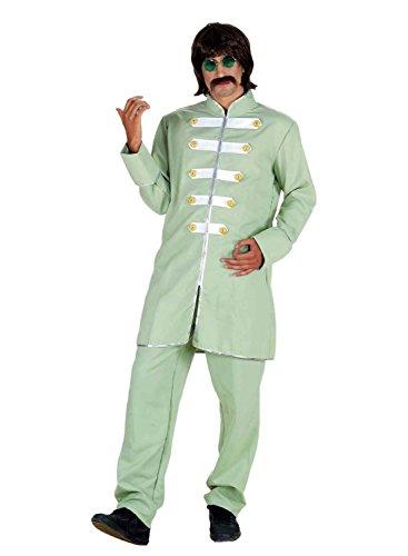 Chiber - Herren-Kostüm 60er Sergeant (Sergeant Pepper Kostüm)