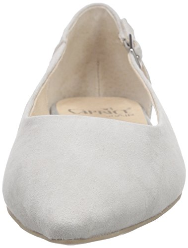 Caprice - 22111, Ballerine Donna Grigio (Grau (GREY SUEDE 201))