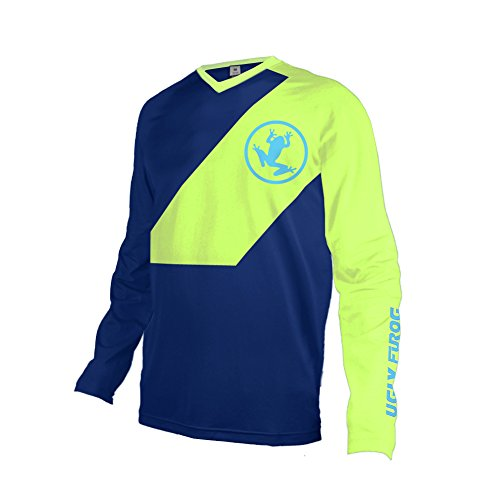 Uglyfrog Invierno Fleece Térmico Maillot Ciclismo Hombres Downhill/MX/MTB Jersey Element-Colour Designs Shirt...
