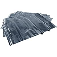 Hangerworld 10 Sobres Bolsa 35 x 50cm Impermeable Opaco Banda Adhesiva Envíos Gris