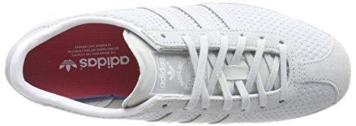 adidas Gazelle Og, Baskets Basses Femme Gris (Clear Grey/Clear Grey/Lush Pink)