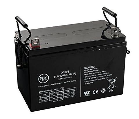 Batterie Universal Power 12 Volt 100ah UB-30H GEL Wheelchair Mobility 12V 100Ah Fauteuil roulant - Ce produit est un article de remplacement de la marque