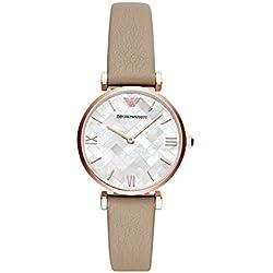 d081471e943d Emporio Armani Reloj Analogico para Mujer de Cuarzo con Correa en Acero  Inoxidable AR11111