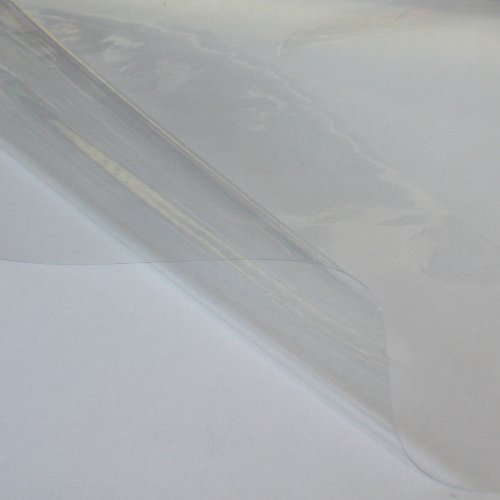 fensterplane PVC Folie Plane TRANSPARENT 0,2 mm dünn - wasserdicht weich flexibel