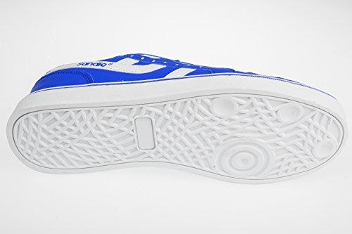 GIBRA homme très légère et confortable, bleu/blanc taille 41–46 pied Bleu - Blau/Weiß