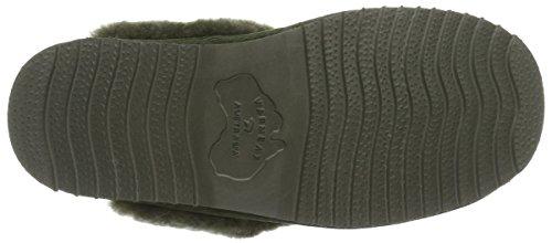 Warmbat Flurry, chaussons d'intérieur femme Grün (army)