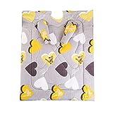 Jannyshop Steppdecke mit Ärmeln Winterdecke Tragbare Baumwolldecke Dicke Warme Decke für Heim und Büro im Winter