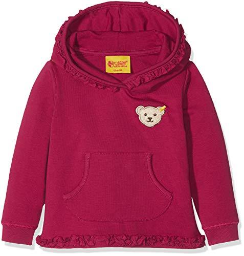 Steiff Baby-Mädchen Sweatshirt Sweathirt 1/1 Arm, Rot (Anemone|Red 2144), 74