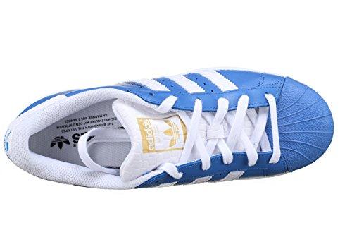 Adidas Superstar Schuhe ray blue-running white-runnning white – 45 1/3 - 5