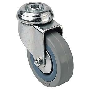 Roulette novoplex à oeil - D: 100 mm - 70 Kg