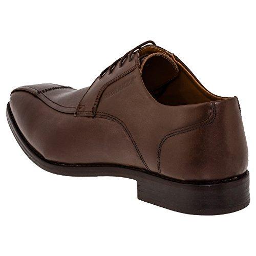 Onoraze Mens Scarpe In Vera Pelle In 2 Colori Pantofola O Allacciata # 117bn Marrone Stringato