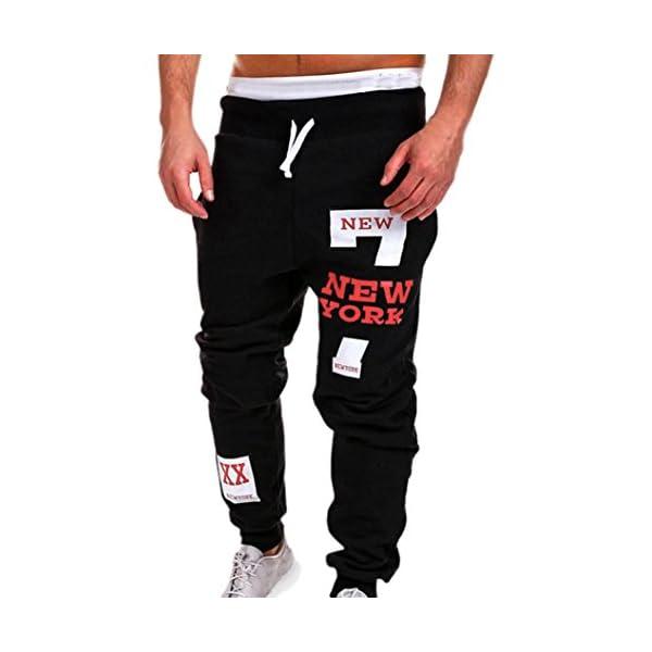 Amlaiworld Moda Hombres Hombre Chándal De Pantalones P744Ox