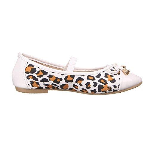 Crianças De De Branco Para Sapatos 211 Z Bailarinas Multi Meninas 5q0Pxx1wd