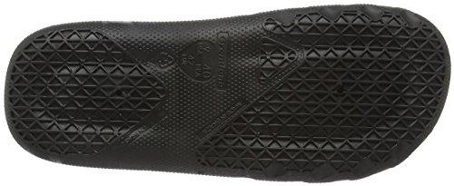 Unbekannt Herren One Slide Dusch-& Badeschuhe Black (Black 20766)