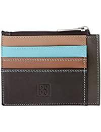 DuDu - Women's Leather Wallets - Stylish Card Cases - Multicolor - Tiago - Color Dark Brown