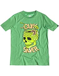 Quiksilver Jungen Kurzarm-T-Shirt Classic T Y A31 B Tee