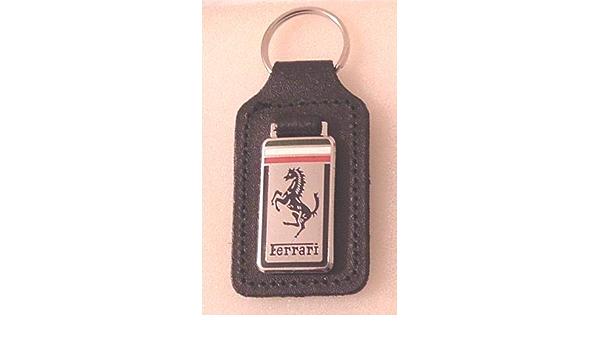 Ferrari Schlüsselanhänger Aus Emaille Und Leder Auto