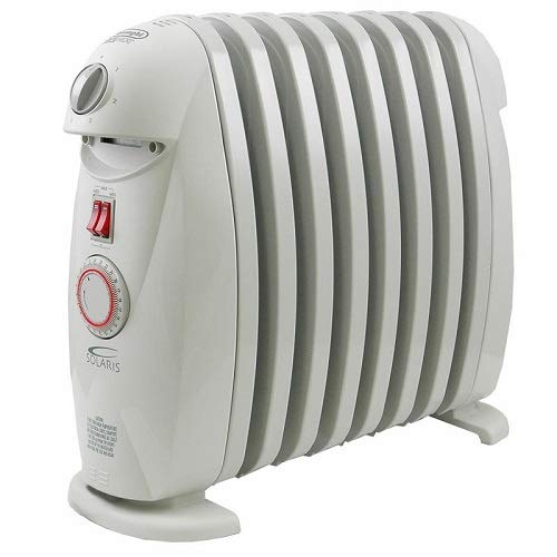 DeLonghi TRN0812T Portable Oil-Filled Radiator with Programmable Timer by DeLonghi