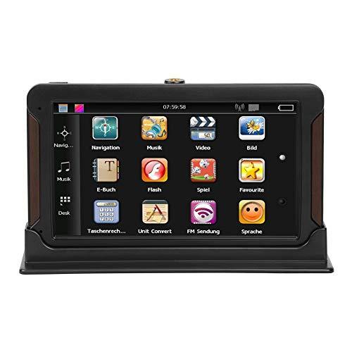 JUNERAIN 7Inch 8G kapazitiver Touchscreen-Konsole GPS-Navigator (Nordamerika)